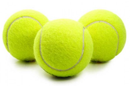 Felt-On-New-Tennis-Balls